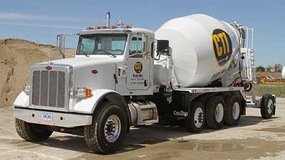 CTI Ready Mix Barrel Mixer