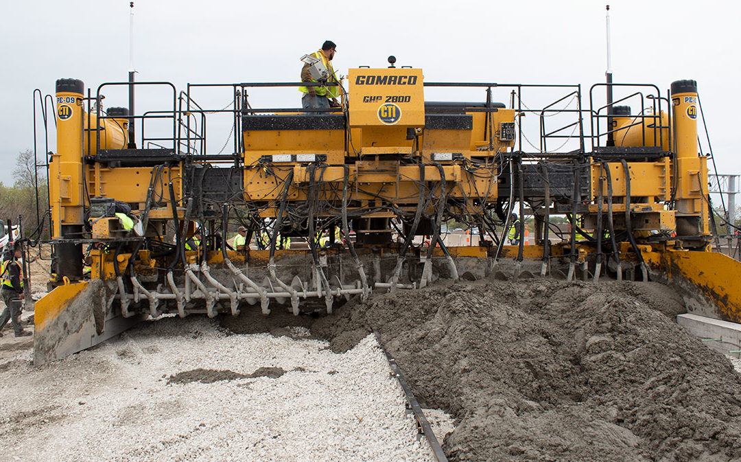 Stringless Paving For Interstate 80 & Interstate 35